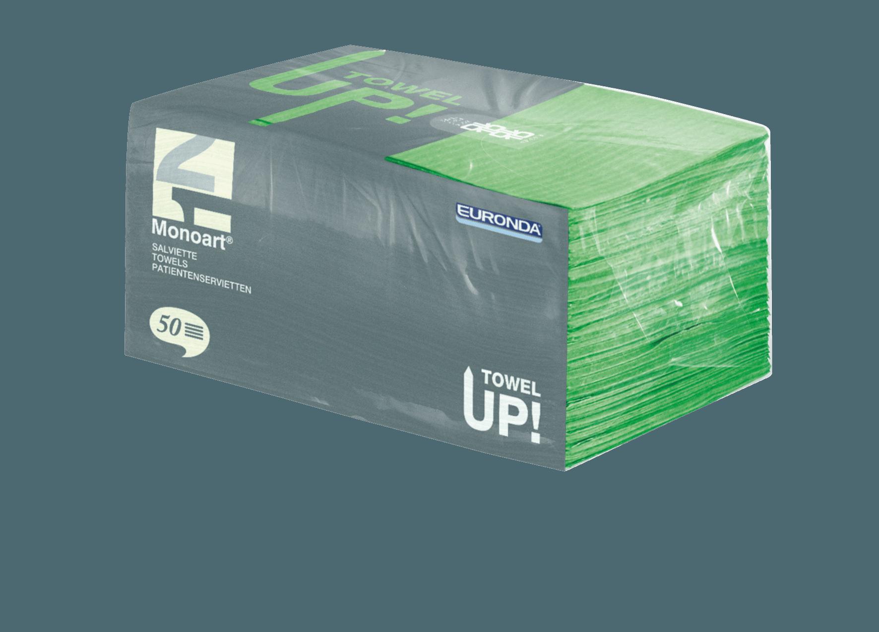 Monoart TowelUP Servietten, grasgrün