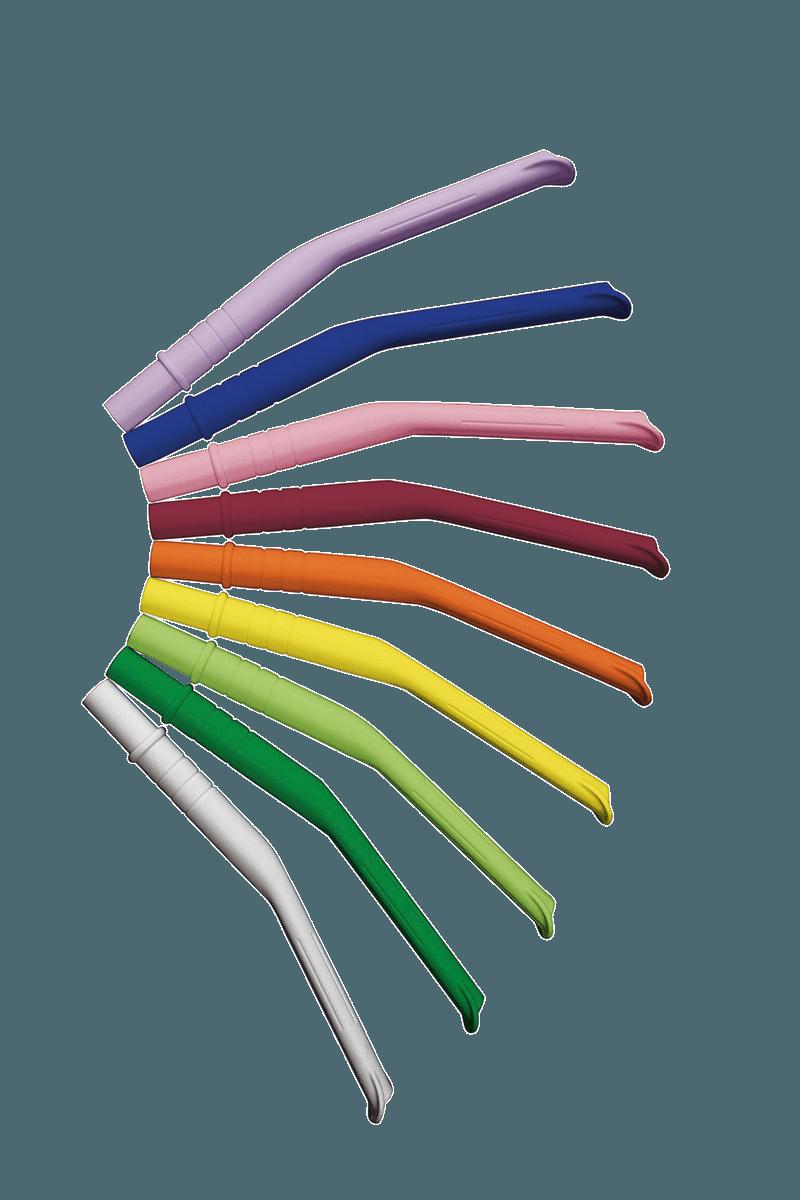Monoart Absaugkanülen Classic mit schmaler Pelotte neun Farben