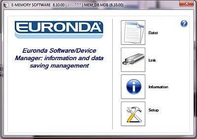euronda-ememory-startscreen