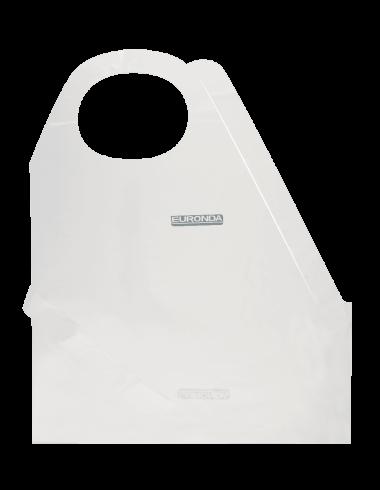 Monoart Polyethylen Schürze, weiß, 50St.