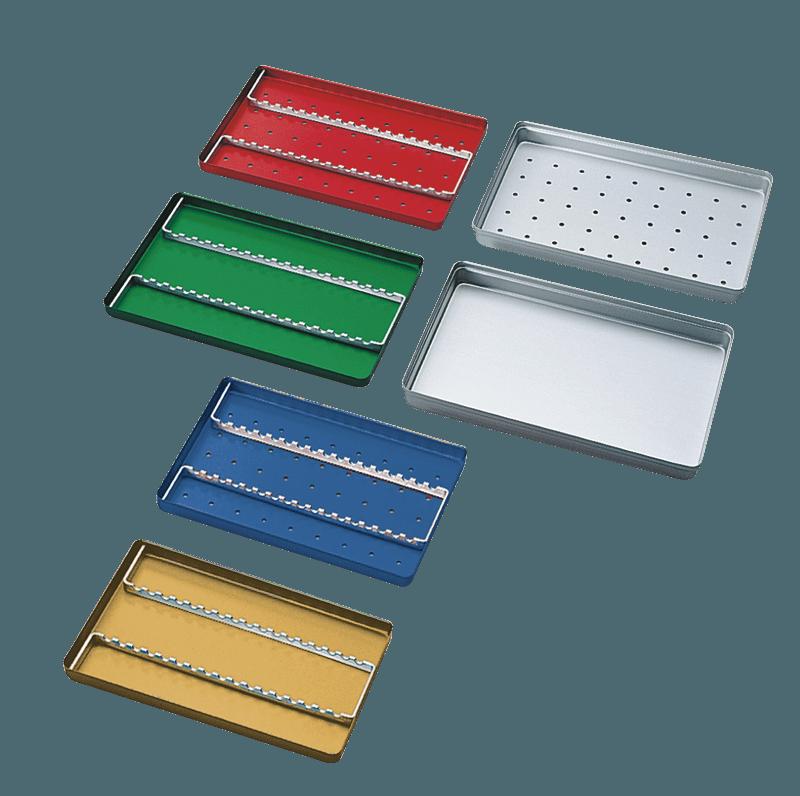 Aluminium Norm-Tray Boden gelocht