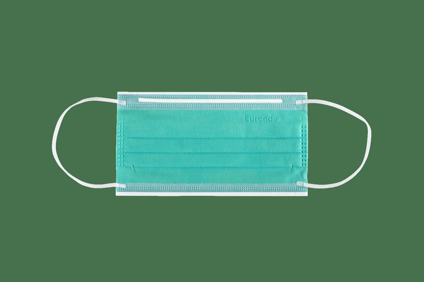 Monoart Mundschutzmaske 4-lagig, mintgrün