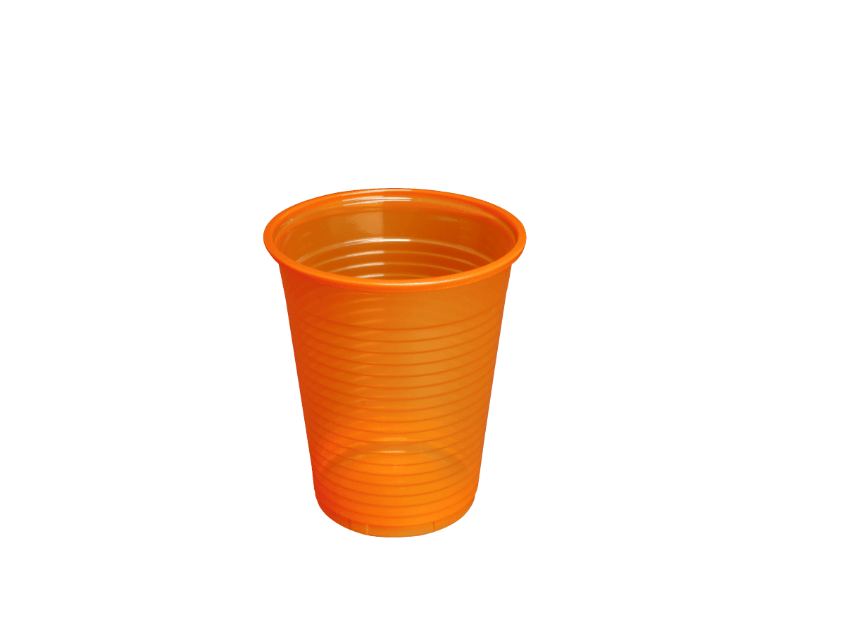 Monoart Mundspülbecher orange 180ml