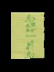 Design Patientenservietten Towel Up Flower cedrogrün