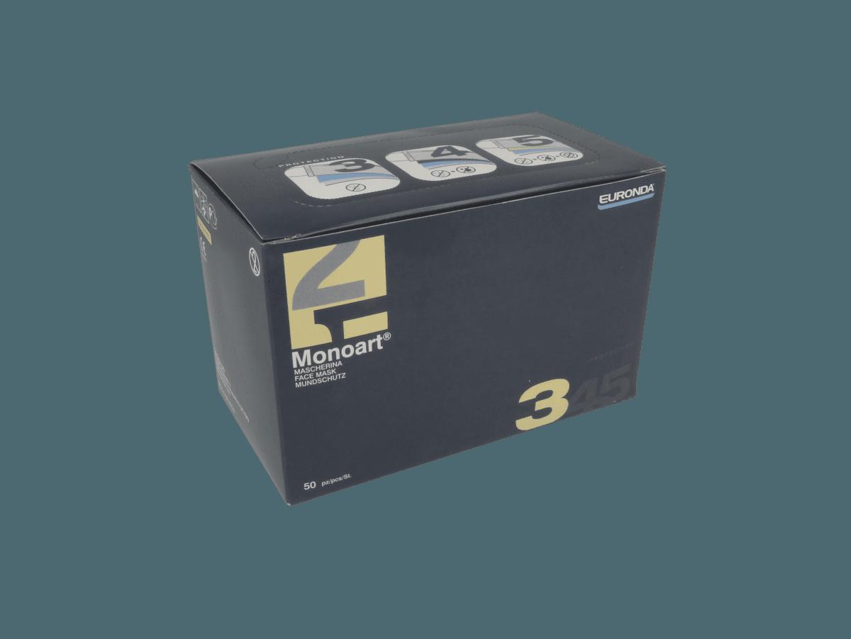 Monoart Spenderbox 3-Lagen-Mundschutz zum Binden