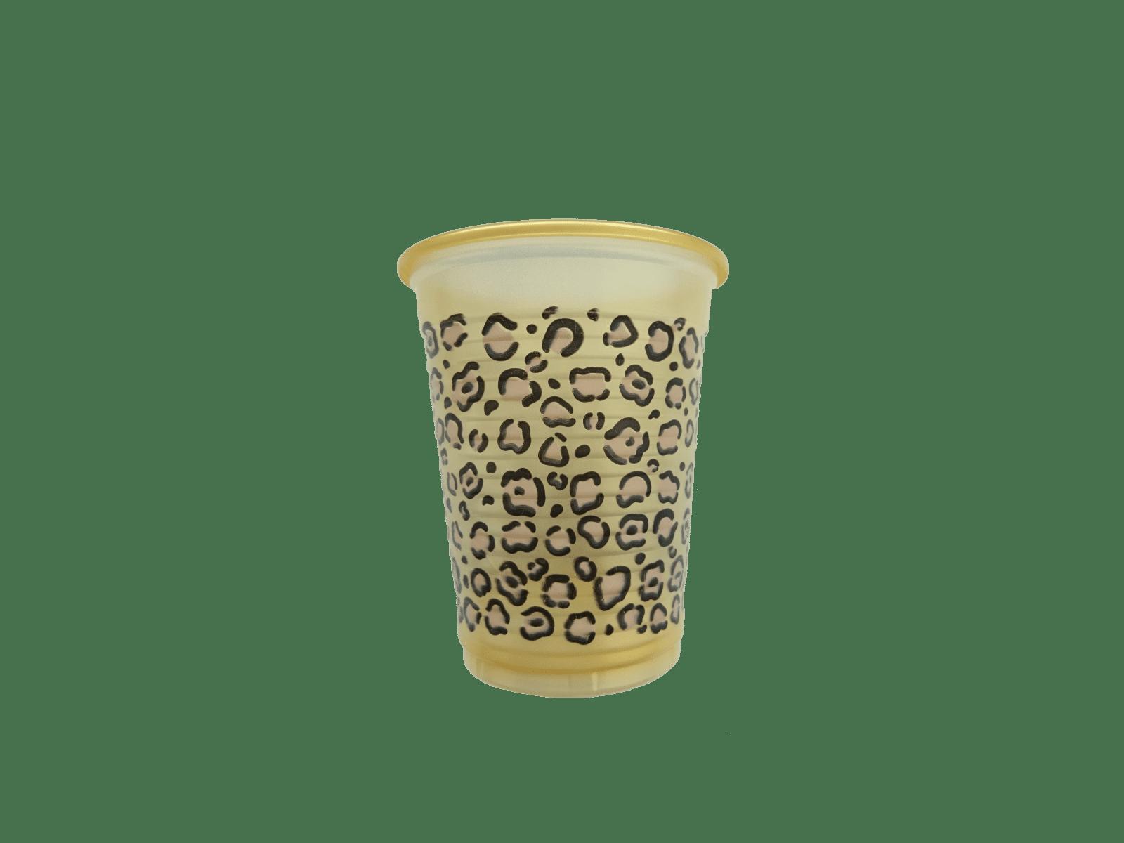 Monoart Mundspülbecher Leopardenprint