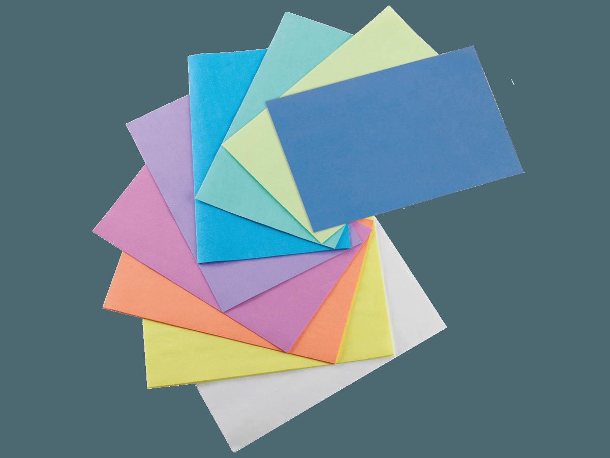 Papierauflage für Trays, 28 x 18 cm, farbig