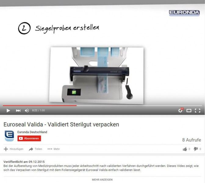 Euronda Service Videos