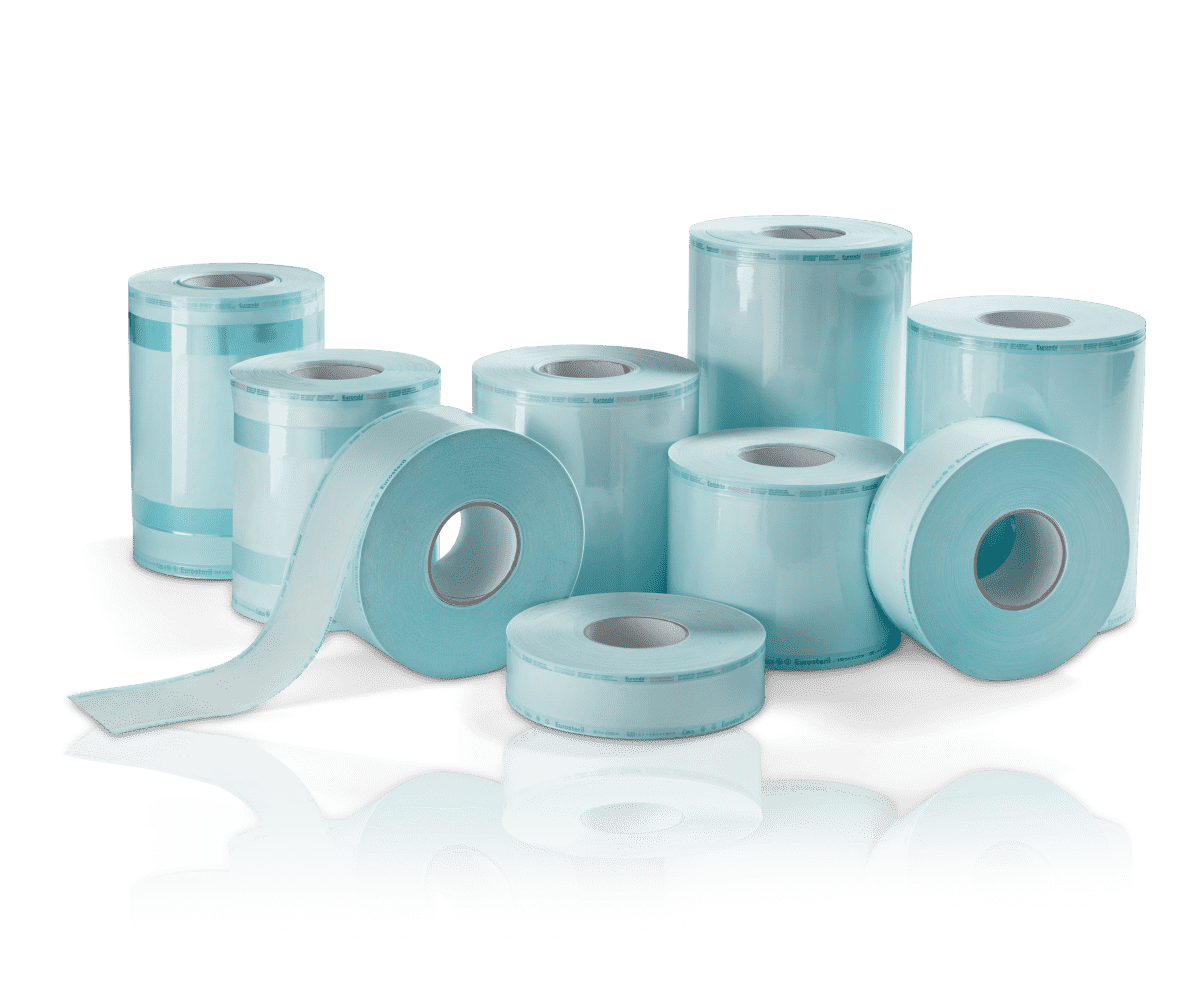 Eurosteril Sterilisationsfolien - Rollenbreite 5-30 Zentimeter