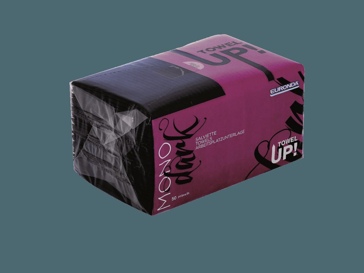 Towel Up Schwarz Hygienepack verschließbar