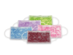 Mundschutz mit Motiv Blumenmuster farbig