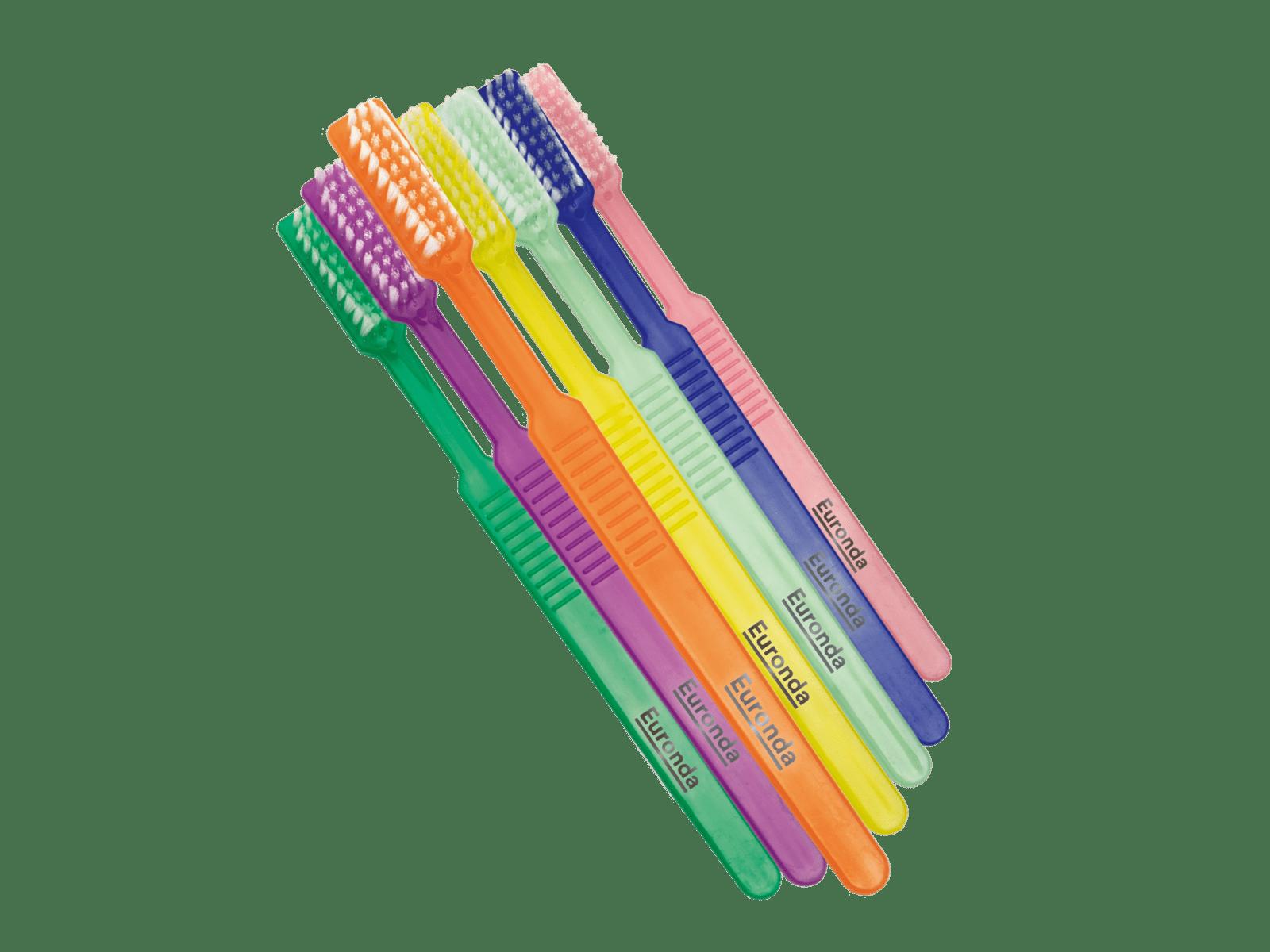 Euronda Einmalzahnbürsten mit Zahnpasta gebrauchsfertig