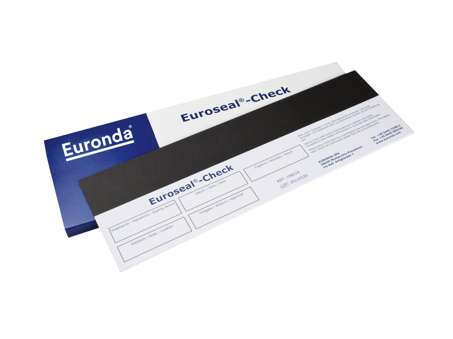 Euroseal Siegelnahttest für Folienschweißgeräte