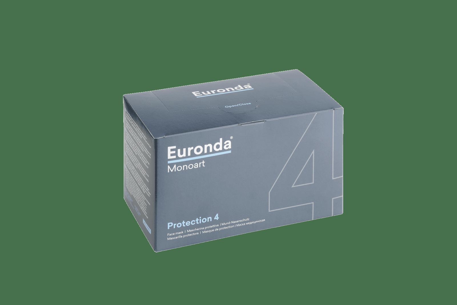 Monoart Mund-Nasenschutz 4-lagig, Spenderbox