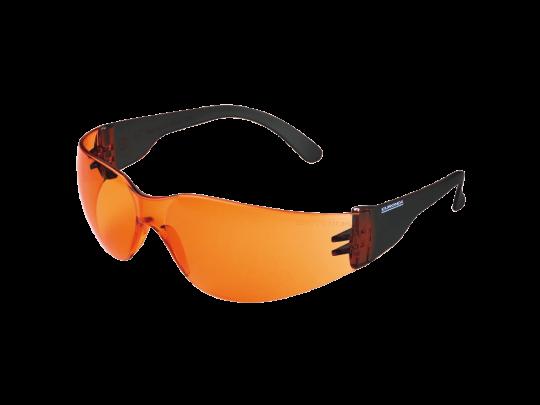 Monoart Schutzbrille für Kinder - mit Lichtschutzfilter orange