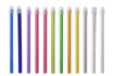 Speichelsauger 150 mm, Kappe abnehmbar, verschiedene Farben