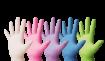 Medizinische Untersuchungshandschuhe Latex farbig