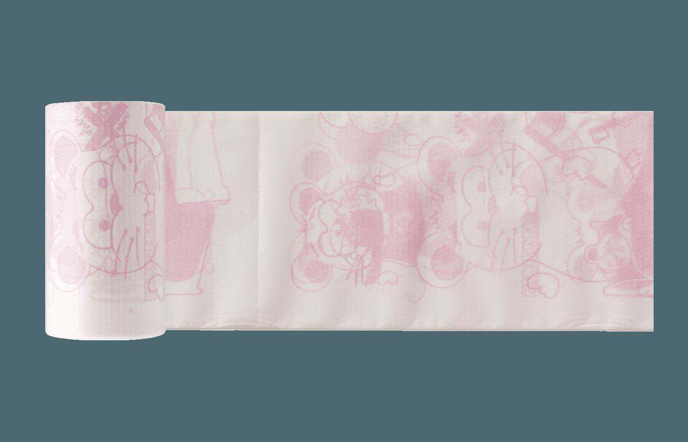 Monoart Kinderservietten 35 x 40 cm rosa