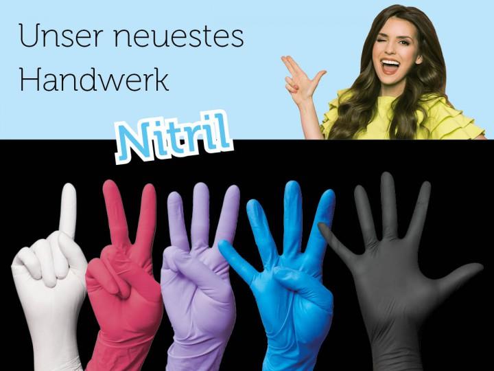 Medizinische Handschuhe aus Nitril