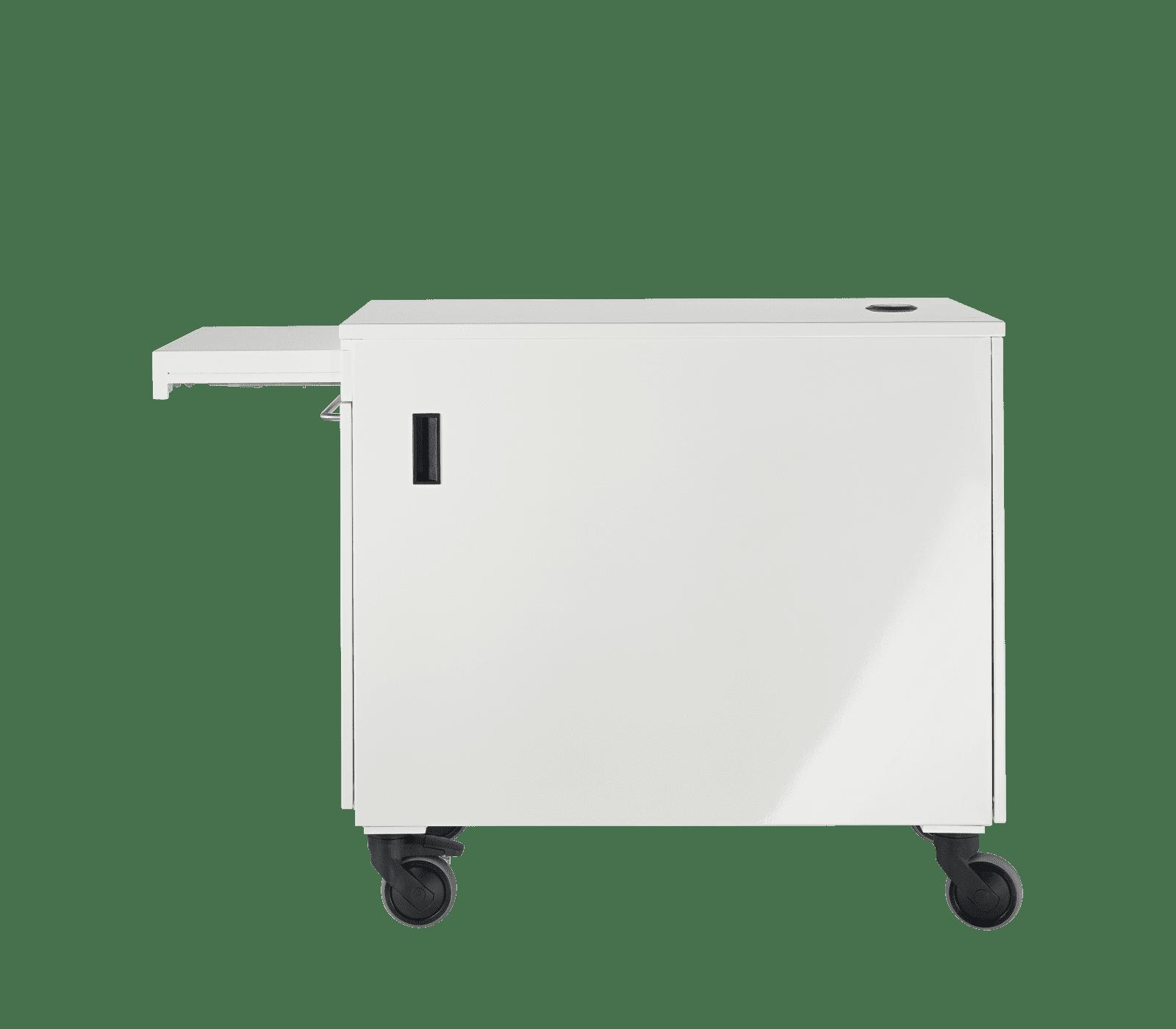 E-Cart Autoklaventrolley - ausziehbare Ablage