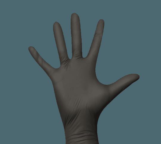 Monodark Nitrilhandschuhe schwarz