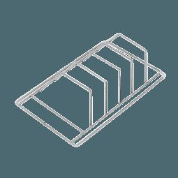 Spüleinsatz für 4 Instrumenten Kassetten