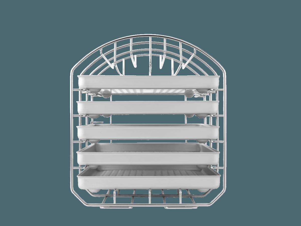 Traygestell Euronda-Autoklaven mit Normtrays