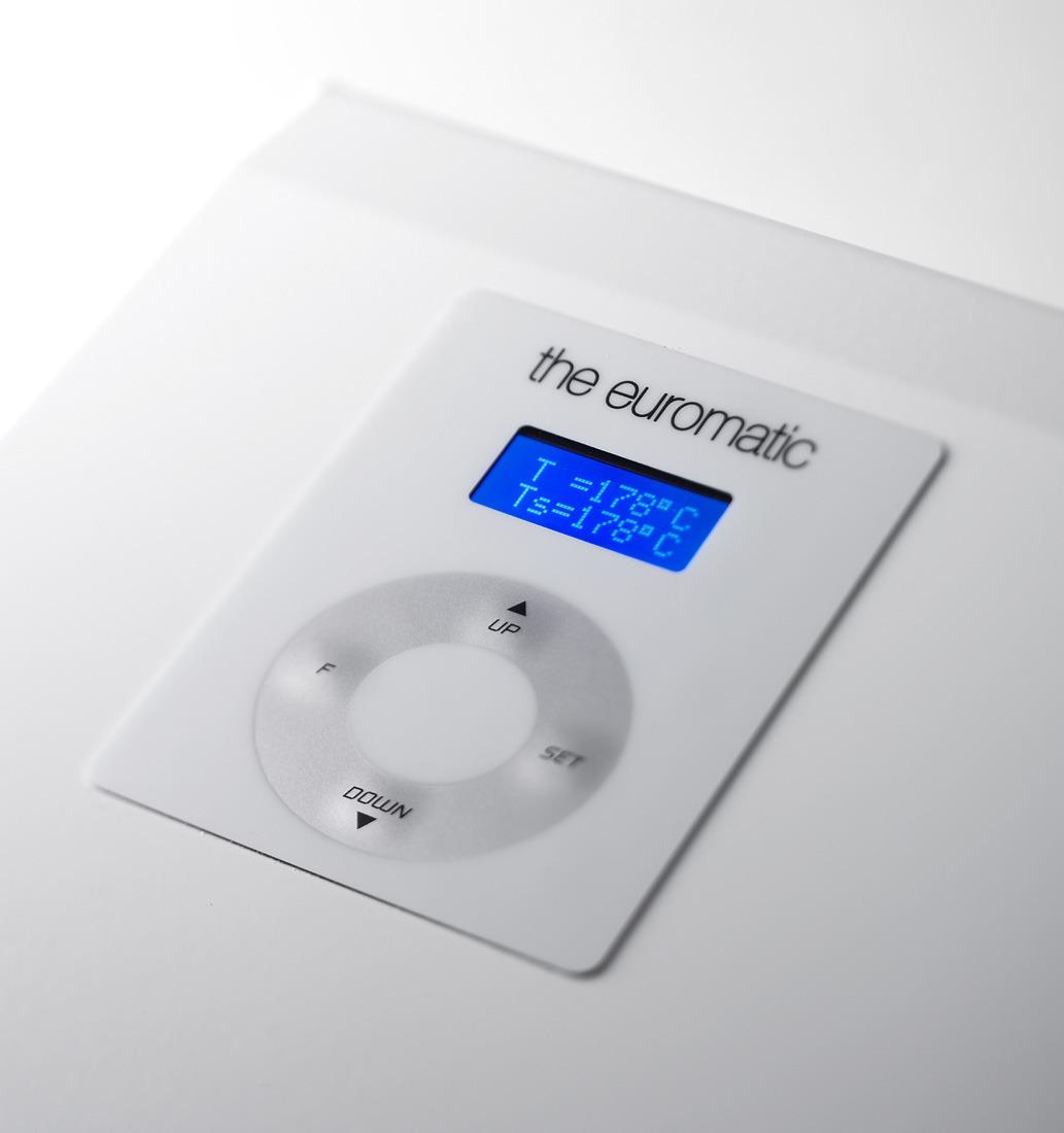 Display Durchlaufsiegelgerät Euromatic Plus