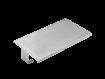 Gelochte Edelstahlablage für Sterilgutboxen im Autoklaven