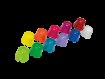 Monoart Dappenbecher vier Farben