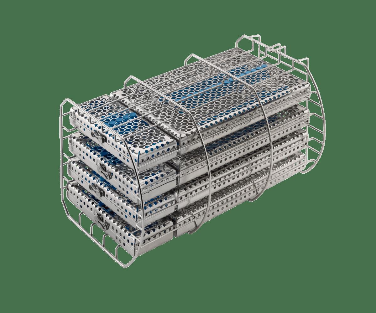 Traygestell 24 Liter Lieferung ohne Sterilisationskassetten