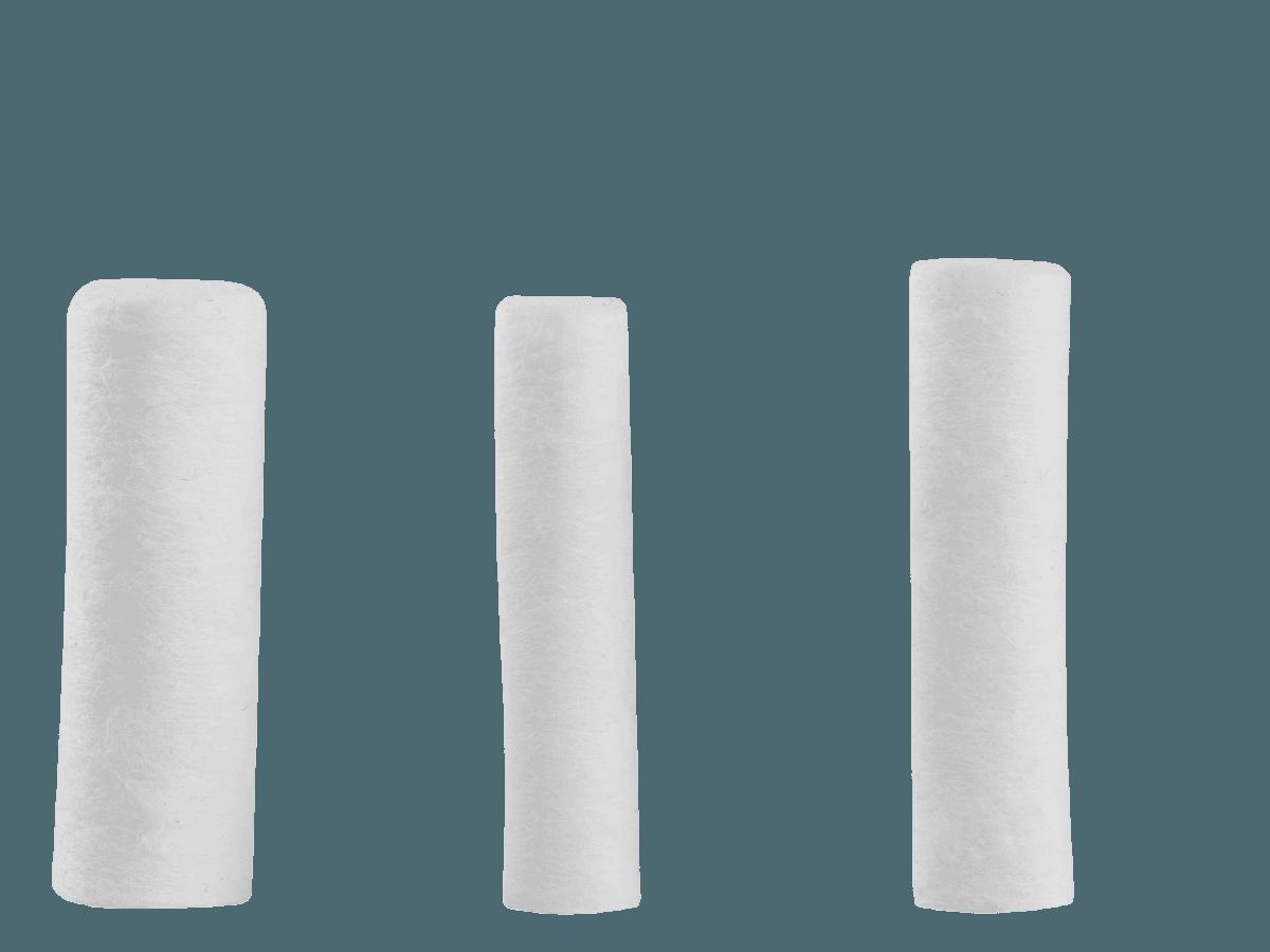 Monoart Watterollen drei Größen