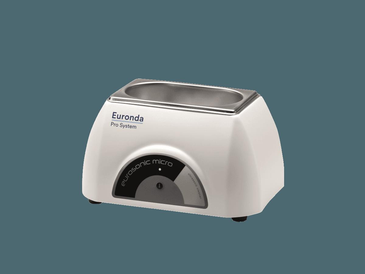 EUROSONIC MICRO 0,5l-Ultraschallreinigungsgerät mit Deckel