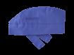 Bandana Kopftuch blau waschbar sterilisierbar