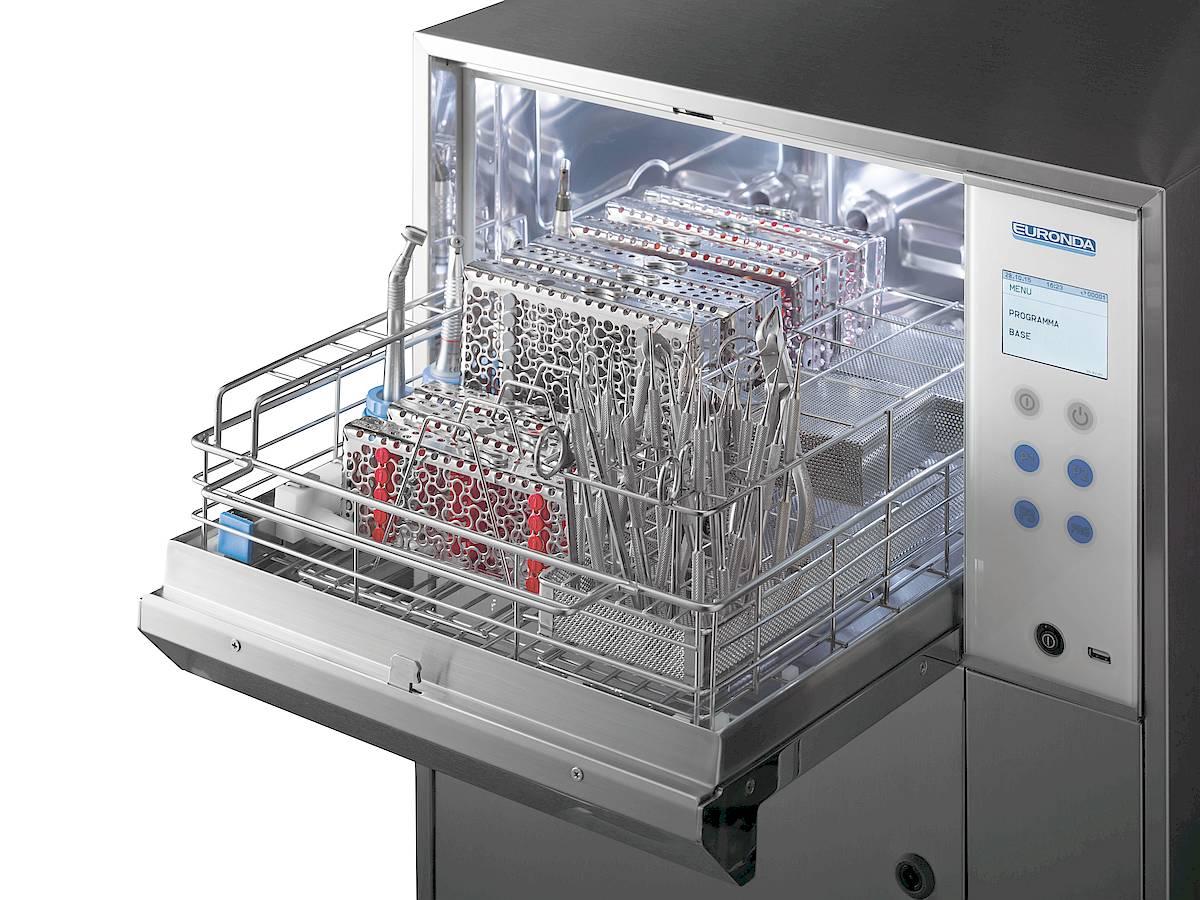 Eurosafe 60 RDG - Waschkammer mit einer Spülebene