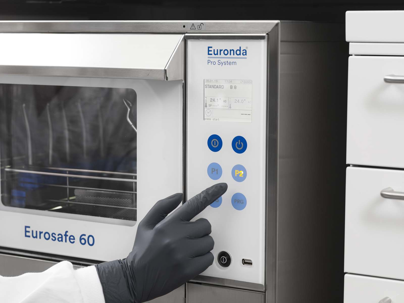 Eurosafe 60 Thermodesinfektor Bedienung