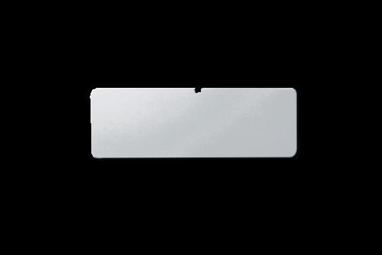 Eurobox Kennzeichnungsschild silber