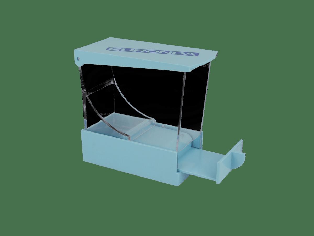 Watterollenspender, blau