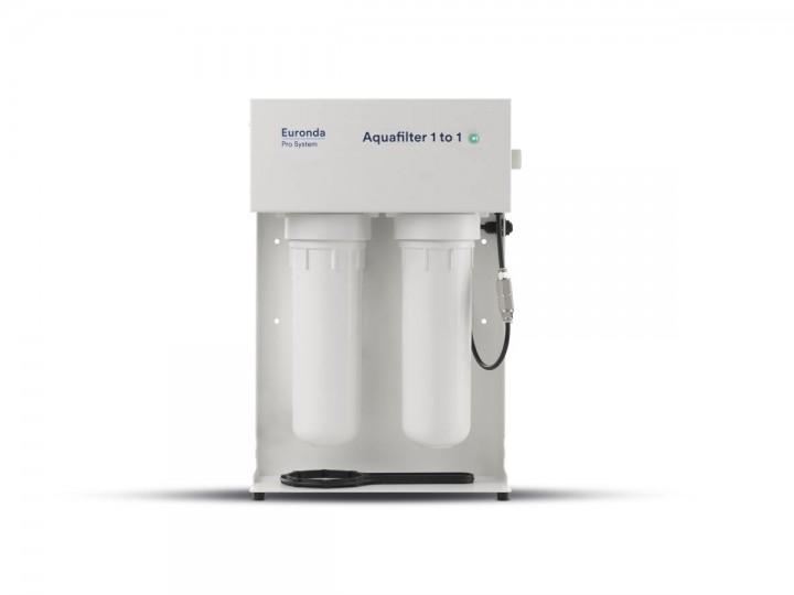 Automatische Wasseraufbereitung für die Sterilisation