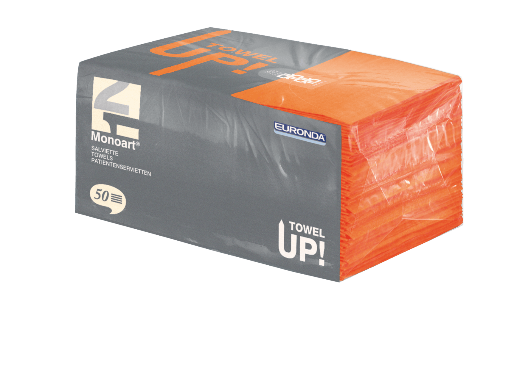 Monoart TowelUP Servietten, orange