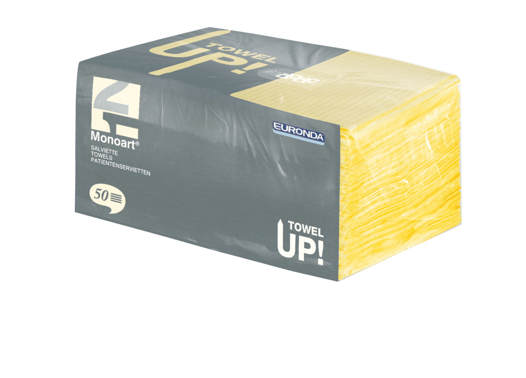 Monoart TowelUP Servietten, gelb