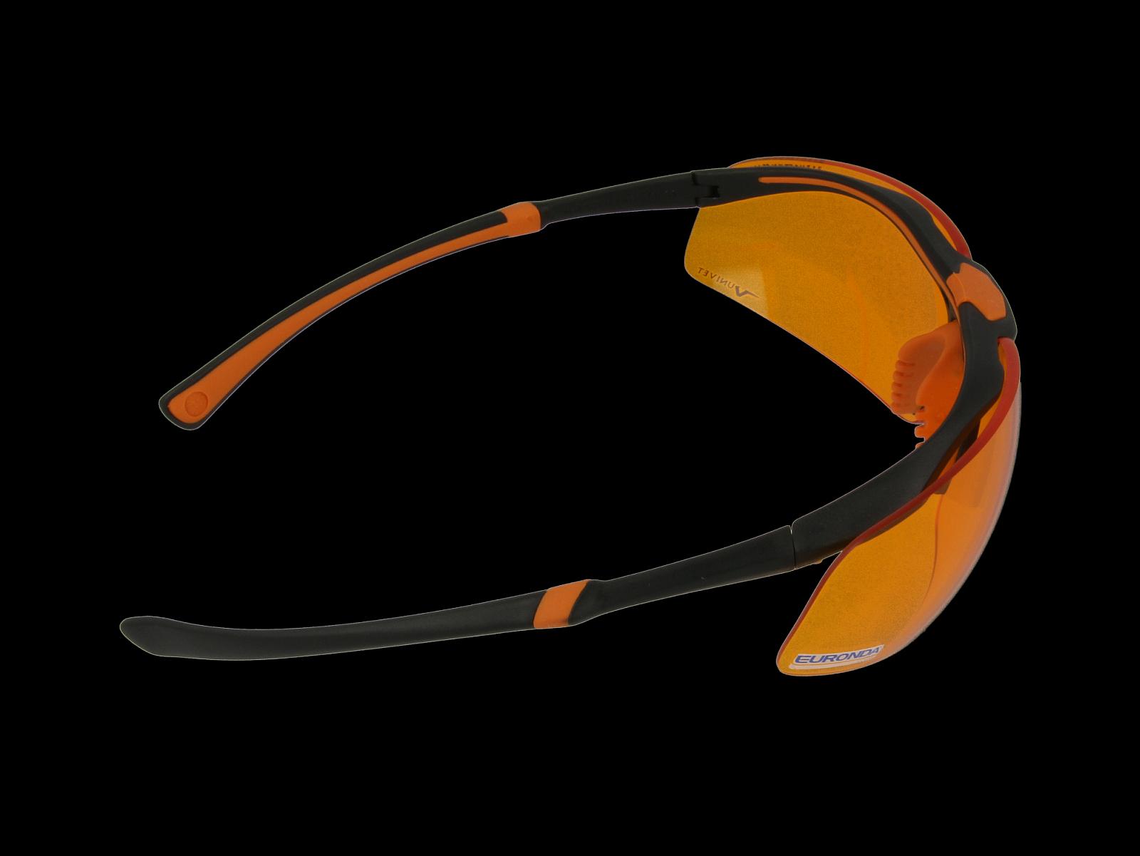 Monoart Schutzbrille Stretch, orange