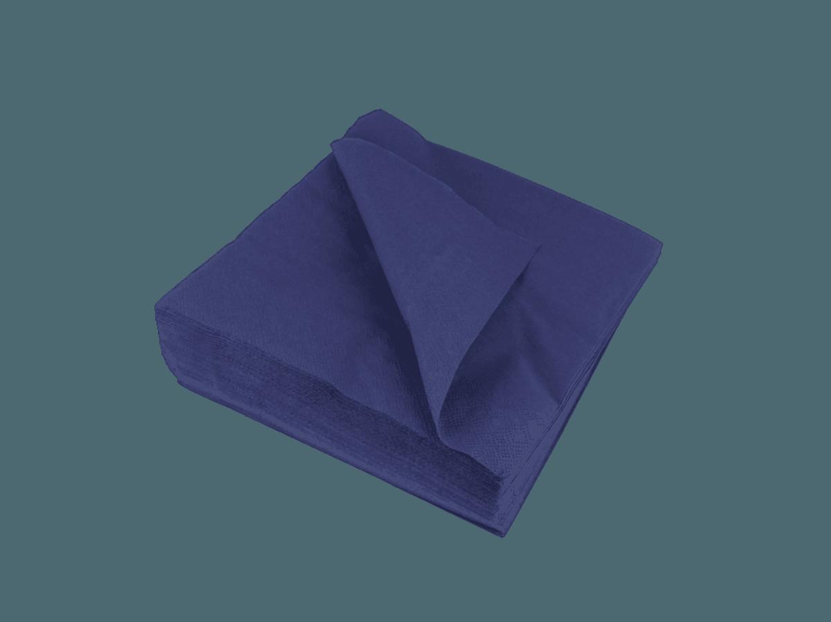 Zelltuchservietten blau 2-lagig