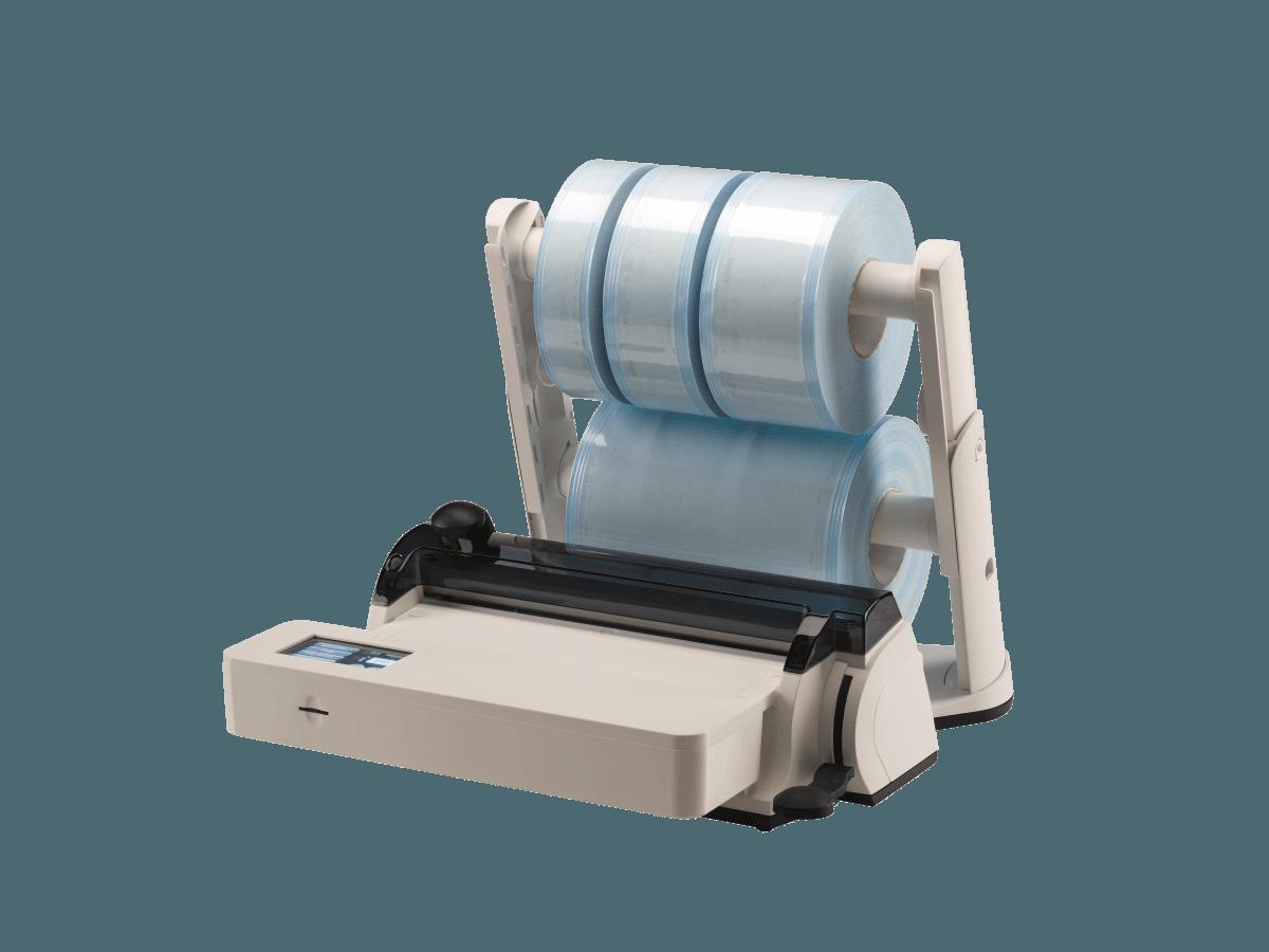 Balkensiegelgerät mit Doppelrollenhalter