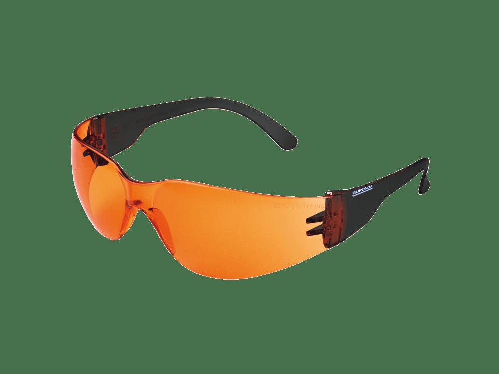 Euronda Schutzbrille Kinder Lichtschutzfilter orange