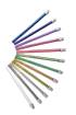 Monoart Speichelsauger 125 mm, zwölf Farben