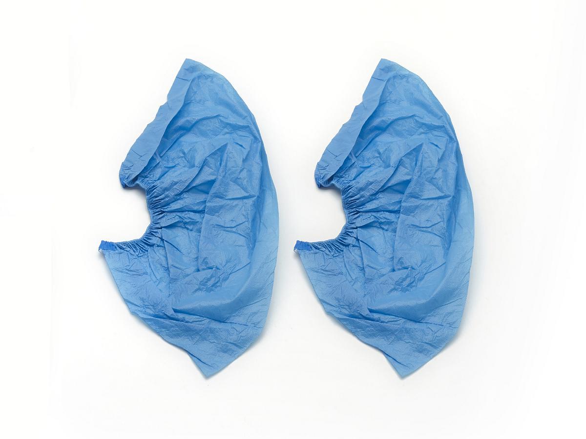 Flüssigkeitsfeste Schuhüberzieher aus PVC