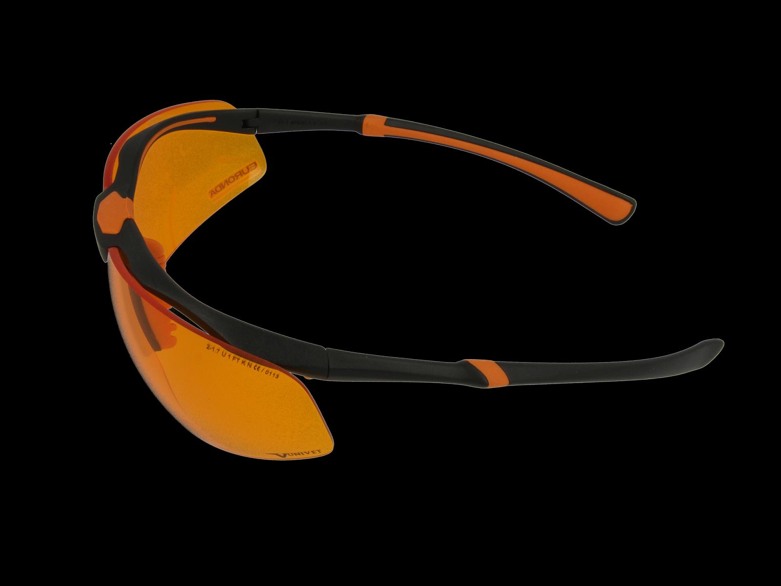 Monoart Schutzbrille Stretch, Anschmiegsame Wrap-Around-Bügel