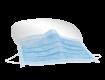 3-lagiger Mundschutz mit Visier