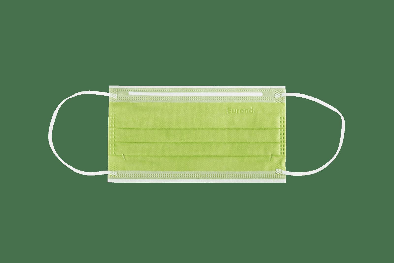 Monoart Mundschutzmaske 4-lagig, cedrogrün